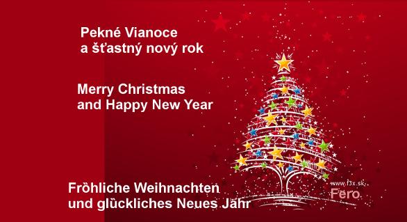 … a sú tu Vianoce …